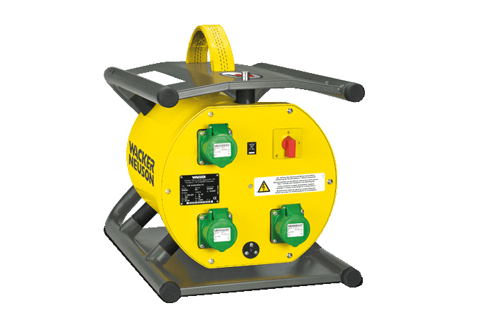 convertisseur de fréquence électronique wacker neuson
