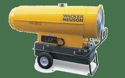 Réchauffeur air combustion indirecte HI120