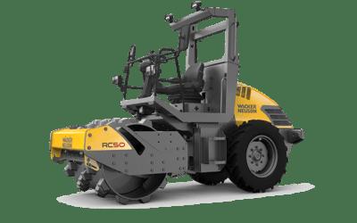 Compacteur de sol monobille RC50