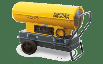 Réchauffeur air combustion directe HD50 HD70
