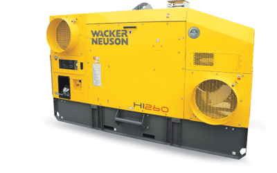 Réchauffeur air combustion indirecte HI260