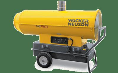 Réchauffeur air combustion indirecte HI35 HI60 HI90