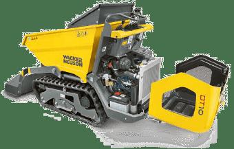 dumper chenille dt12 maintenance