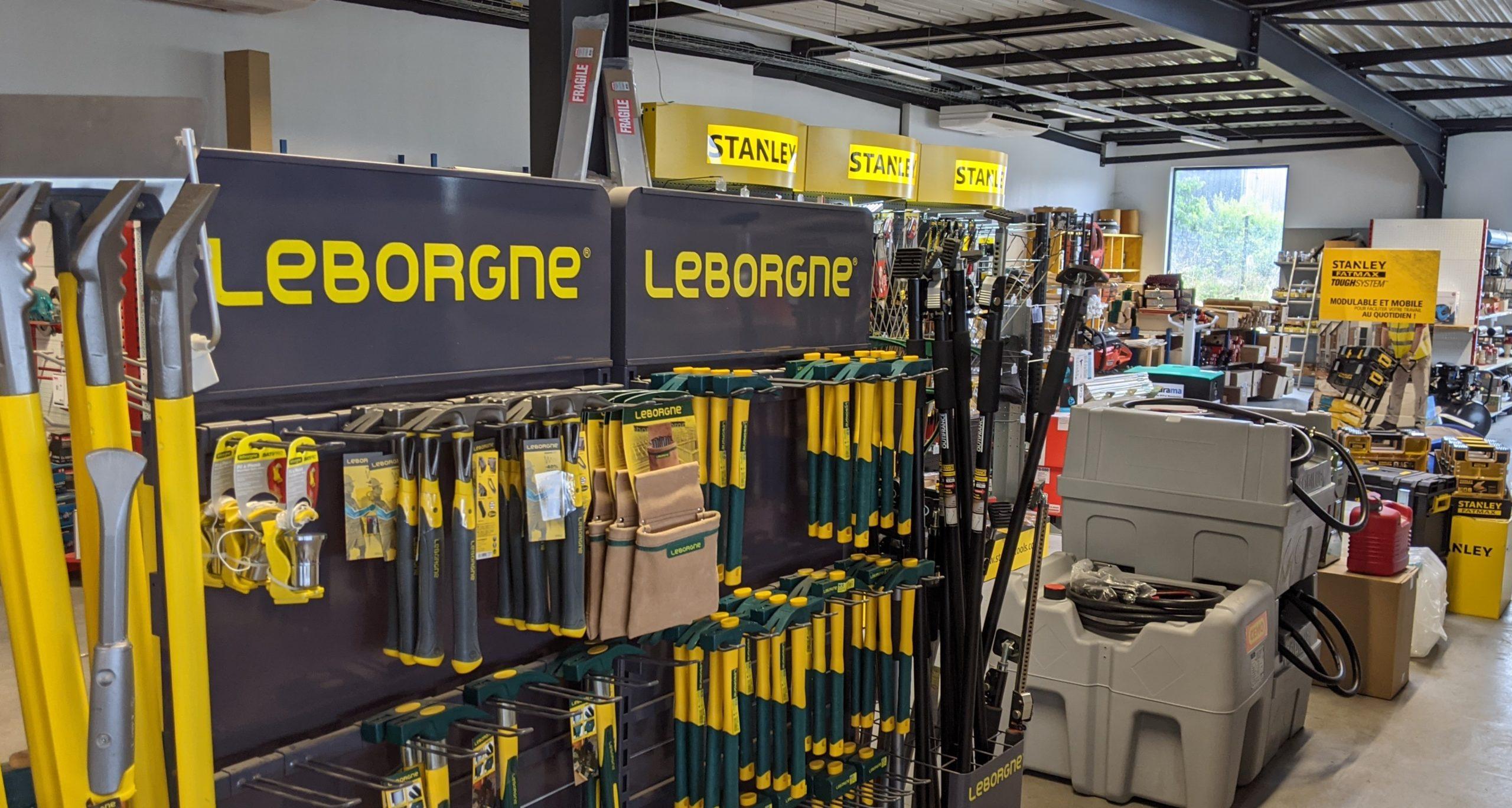 lLeborgne équipement btp outils