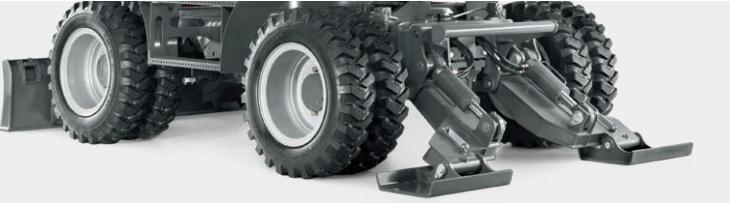 pelle pneu stabilité roues