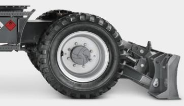 pelle pneu wacker roues