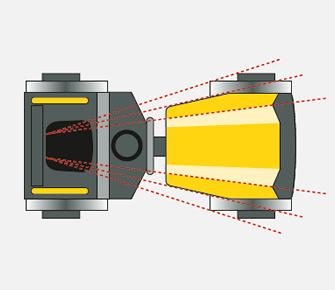 rouleau compresseur visibilité