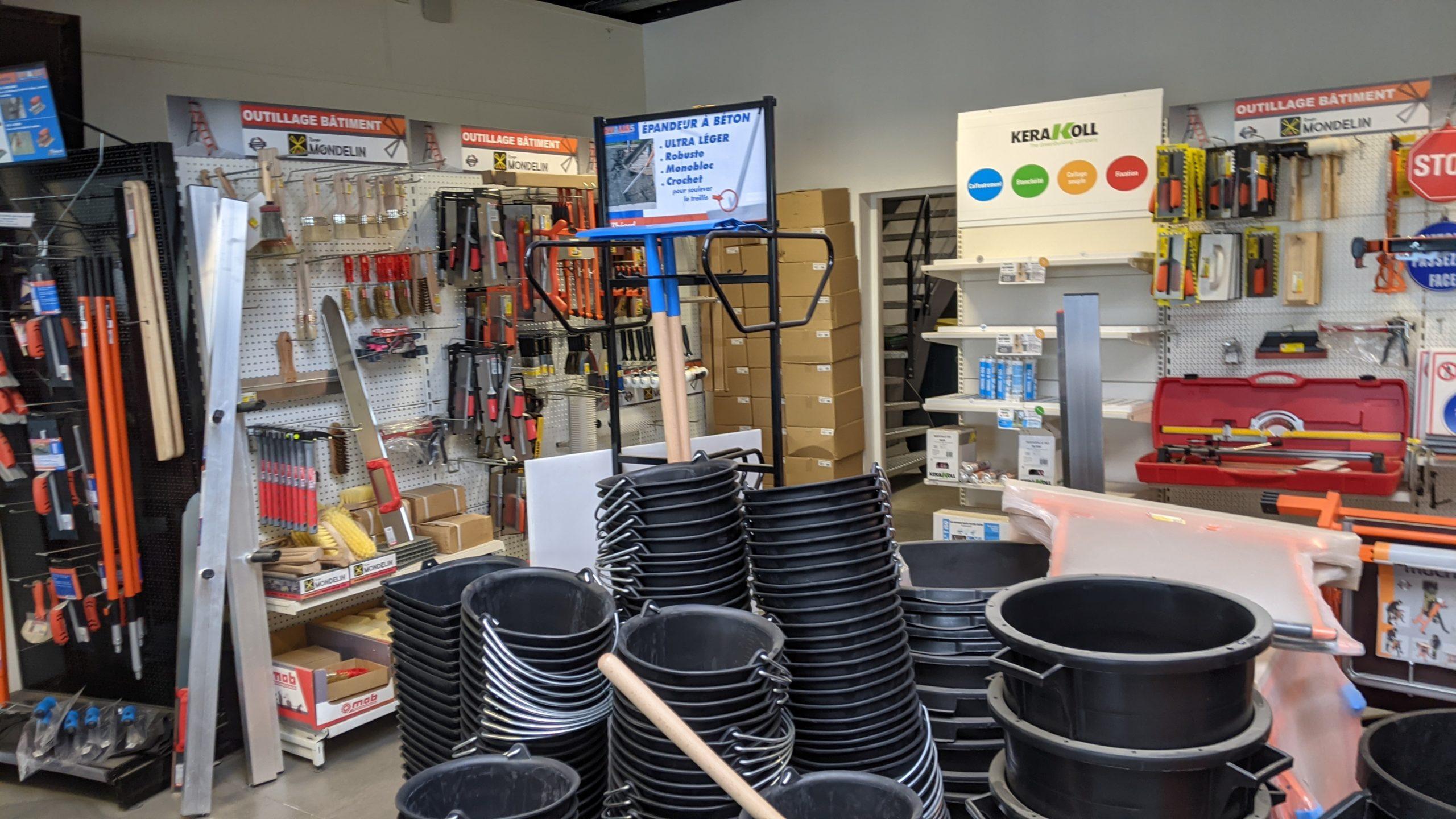matériel magasin outillage aurama